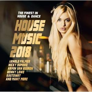 Musik-CD House Music 2018-The Finest in House & Dance / Various, (1 CD)