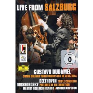 Musik-CD Live At Salzburg / Dudamel,Gustavo, (1 DVD-Video Album)