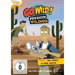 Go Wild!-Mission Wildnis - (7)DVD z.TV-Serie-Ein Koala In Der Wüste - 1 DVD