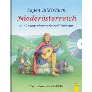 Sagen-Bilderbuch Niederösterreich mit CD