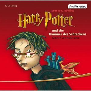 Beck,Rufus - (2)Harry Potter und die Kammer des Schreckens - 10 CD