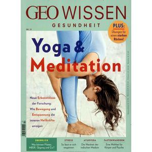 GEO Wissen Gesundheit / GEO Wissen Gesundheit mit DVD 13/20 - Yoga & Meditation