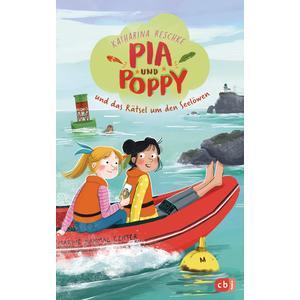Pia & Poppy und das Rätsel um den Seelöwen