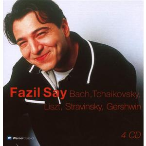 Musik-CD Fazil Say-4CD Capbox / Say,Fazil, (4 CD)