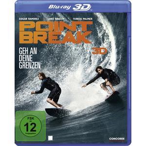 Ramirez,Edgar/Palmer,Teresa/Bracey,Luke - Point Break 3D - 1 Blu-Ray 3D