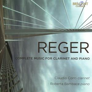 Complete Music For Clarinet And Piano / Conti,Claudio/Bambace,Roberta