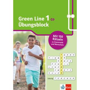 Green Line 1 G9 ab 2019 Klasse 5 - Übungsblock zum Schulbuch