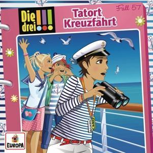 Die drei !!! - 057/Tatort Kreuzfahrt - 1 CD