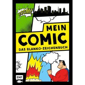 Mein Comic – Das Blanko-Zeichenbuch