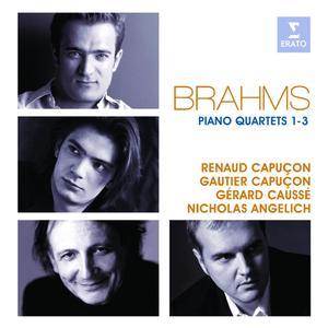 Musik-CD Klavierquartette 1-3 / Capucon/Angelich/Causse, (2 CD)