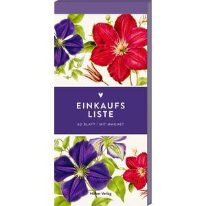 Einkaufsliste (Clematis Lila & Pink, Hölker Küchenpapeterie)