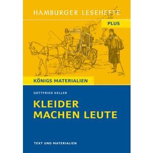 Hamburger Lesehefte Plus - Gottfried Keller: Kleider machen Leute