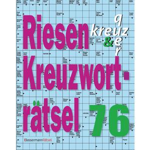 Riesen-Kreuzworträtsel 76 (5 Exemplare à 2,99 €)