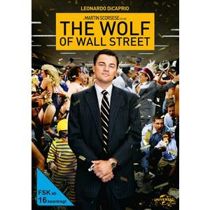 Leonardo DiCaprio,Jonah Hill,Margot Robbie - The Wolf of Wall Street - 1 DVD