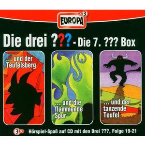 DIE DREI ??? - DIE DREI ???: DIE 7. 3ER BOX - 3 CD