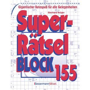 Superrätselblock 155 (5 Exemplare à 3,99 €)
