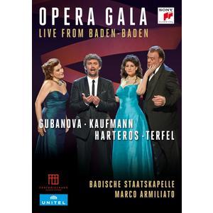 Gubanova/Kaufmann/Harteros/Terfel/Armiliato/+ - Opera Gala-Live from Baden-Baden - 1 DVD