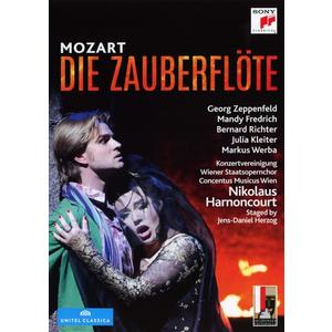 RICHTER/KLEITER/CONCENTUS MUSICUS WIEN/HARNONCOURT - Die Zauberflöte - 2 DVD