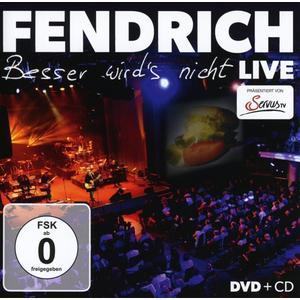 FENDRICH,RAINHARD - BESSER WIRDS NICHT LIVE - 2 DVD