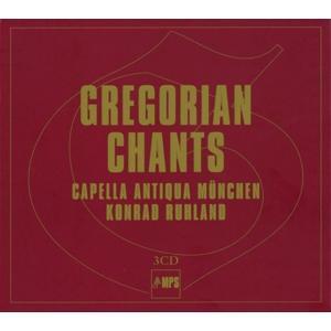 Capella Antiqua Choral Schola - Gregorian Chants (Box) - 3 CD