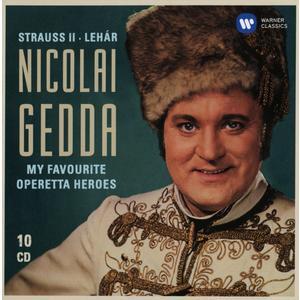 Musik-CD Meine Schönsten Operetten / Gedda,Nicolai, (10 CD)