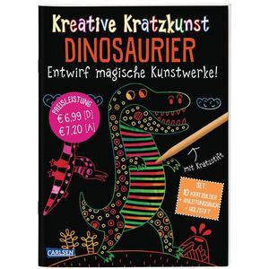 Kreative Kratzkunst: Dinosaurier