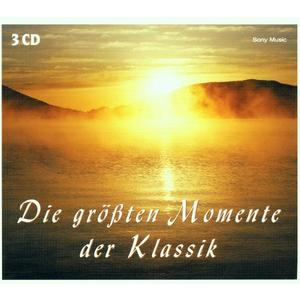 Musik-CD DIE GRÖSSTEN MOMENTE DER KLASSIK / ORMANDY,E./PDO/SZELL,G./CO/+, (3 CD)