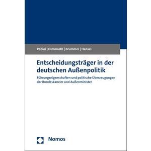 Entscheidungsträger in der deutschen Außenpolitik