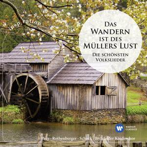 Musik-CD DAS WANDERN...VOLKSLIEDER / PREY/ROTHENBERGER/SCHOCK, (1 CD)