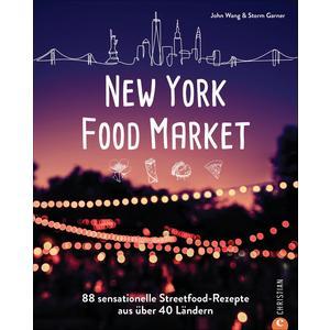 New York Food Market. 88 sensationelle Streetfood-Rezepte aus über 40 Ländern. Kultrezepte vom Queens Night Market sättigen Ihren Reisehunger und verführt Sie mit den besten Gerichten aus aller Welt.