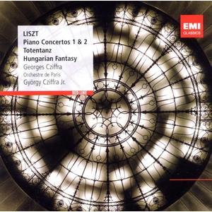 Klavierkonzerte 1 & 2/Totentanz / Cziffra/OP/Cziffra,Jr.