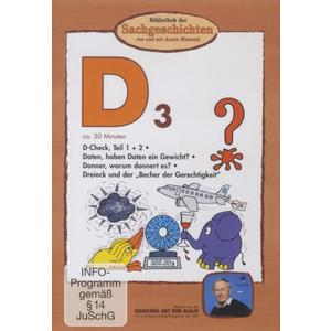 Bibliothek Der Sachgeschichten - (D3)D-Check,Daten,Donner,Dreieck - 1 DVD