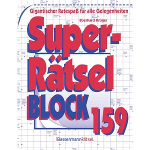 Superrätselblock 159 (5 Exemplare à 3,99 €)