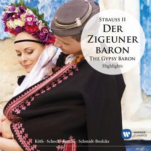 Musik-CD DER ZIGEUNERBARON-HIGHLIGHTS / SCHOCK,RUDOLF/KÖTH,ERIKA, (1 CD)