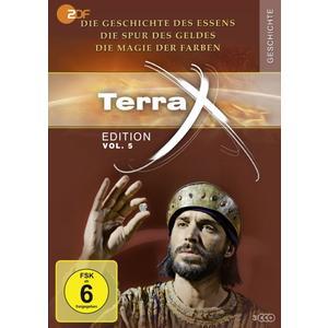 Terra X - Die Geschichte des Essens/Die Spur des Geldes/ - 3 DVD