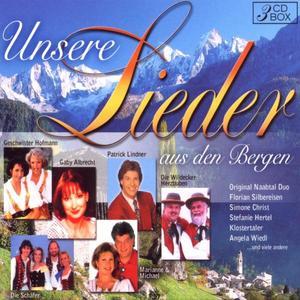DIVERSE - UNSERE LIEDER DER BERGE - 3 CD