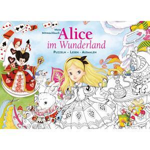 Mein Mitmachbuch: Alice im Wunderland