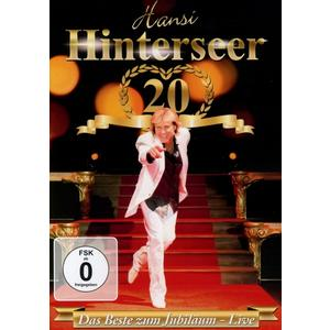 HINTERSEER,HANSI - DAS BESTE ZUM JUBILÄUM LIVE - 1 DVD