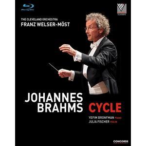 Musik-CD Johannes Brahms: Cycle / Welser-Möst,Franz/Cleveland Orchestra, (3 Blu-Ray Video)
