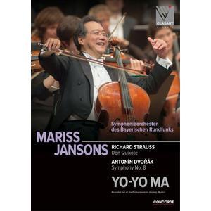 Musik-CD Richard Strauss: Don Quixote/Anton Dvorak: Symph / Jansons,Mariss/Yo-Yo Ma, (1 DVD-Video Album)