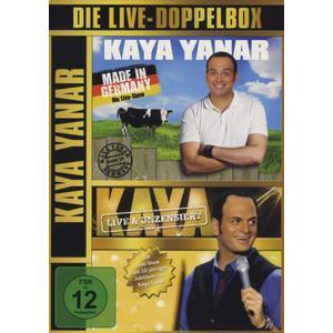 Yanar,Kaya - Die Live-Doppelbox - 4 DVD