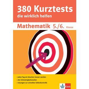 Klett 380 Kurztests Mathematik 5./6. Klasse
