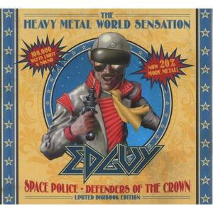 Edguy - SPACE POLICE DEFENDERS OF THE CROWN (L - 2 CD