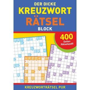 Der dicke Kreuzworträtselblock