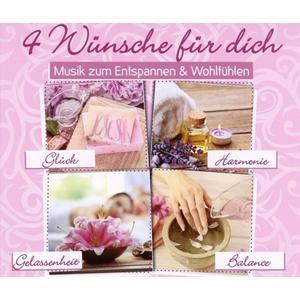 Various - 4 Wünsche Für dich: Musik zum Entspannen & Wohlfüh - 4 CD