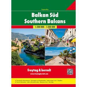 Balkan Süd, Autoatlas 1:200.000 - 1:500.000