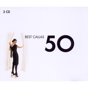 CALLAS,MARIA/VARIOUS - 50 BEST MARIA CALLAS - 3 CD