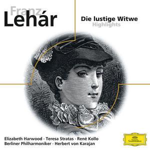 Musik-CD Die Lustige Witwe / Karajan/BP, (1 CD)