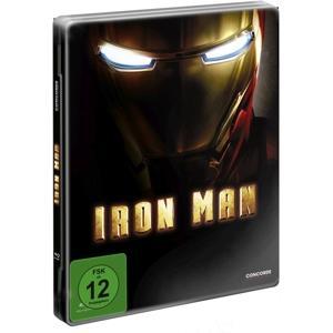 Downey JR,Robert/Paltrow,Gwyneth/Bridges,Je - Iron Man 1 Steelbook Ltd.Ed. - 1 Blu-Ray