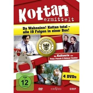 Resetarits,Lukas/Buchrieser,Franz/Vogel,Pet - Kottan ermittelt: Die komplette Serie - 4 DVD